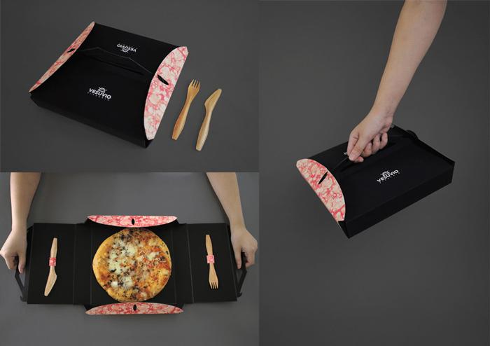 بسته بندی شگفت انگیز پیتزا