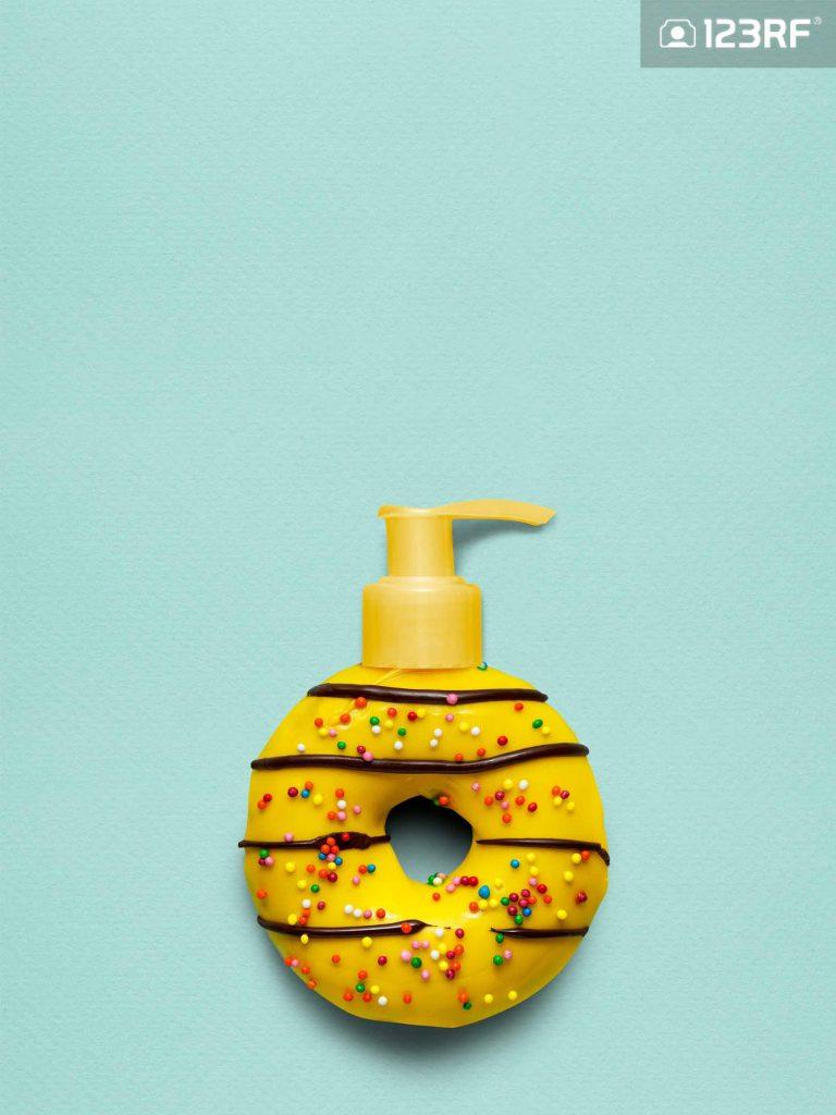 خلاقیت در ساخت مایع دستشویی