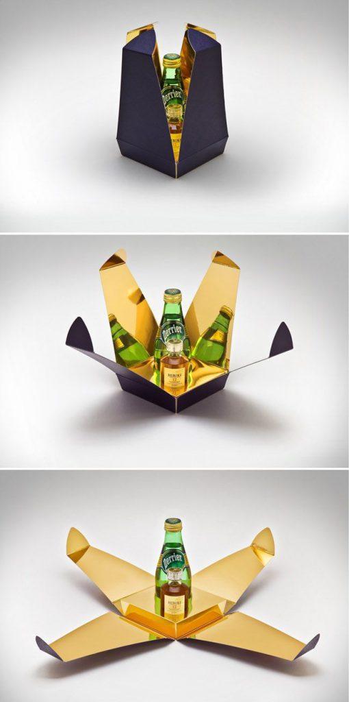 جذابین در بسته بندی بطری