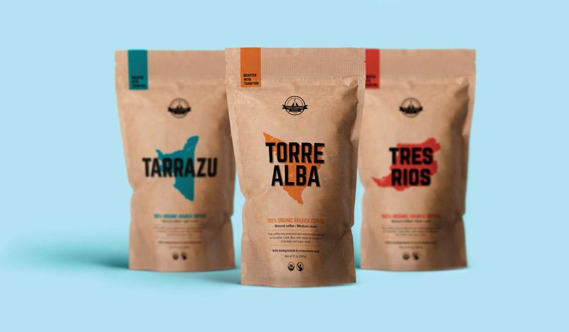ایده و اصول بسته بندی قهوه