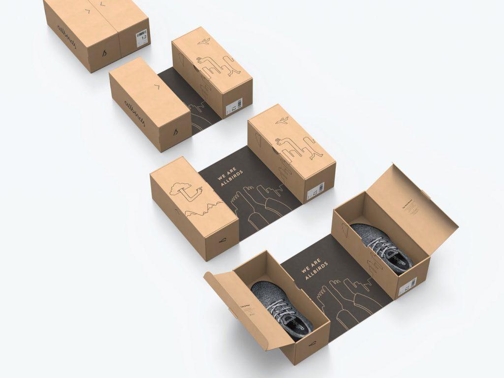 ایده و اصول بسته بندی کارتن کفش