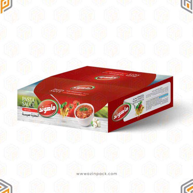 طراحی-و-تولید-کارتن-مادر-سس-پاستا-ماهوند