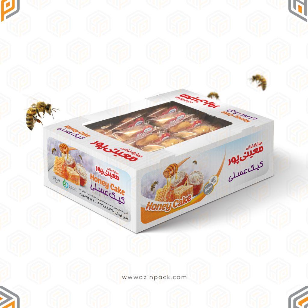 کفی کیک عسلی معینی پور